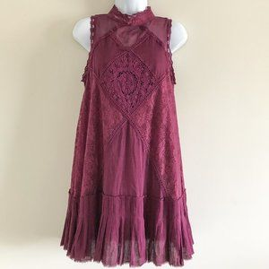 Free People Angel Lace Cocktail Dress